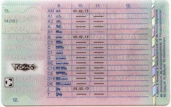 Führerschein Beschränkungen